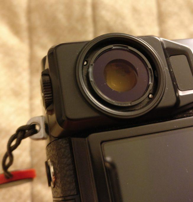 Fuji X-Pro2 missing eyecup