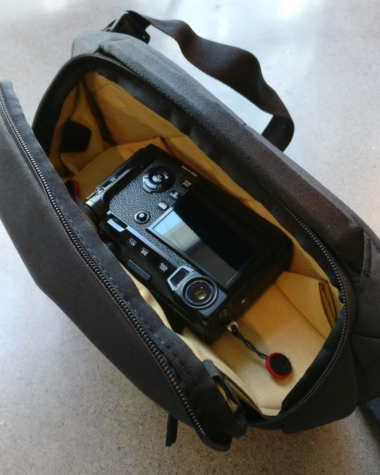 Xpro2 in bag to avoid rubbing the eyecup